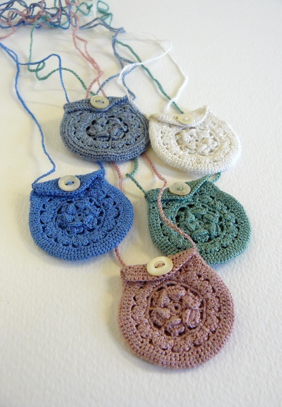 Crochet Pouch Fresh Tiny Crochet Keepsake Necklaces · A Knit Crochet Of Awesome 48 Pics Crochet Pouch