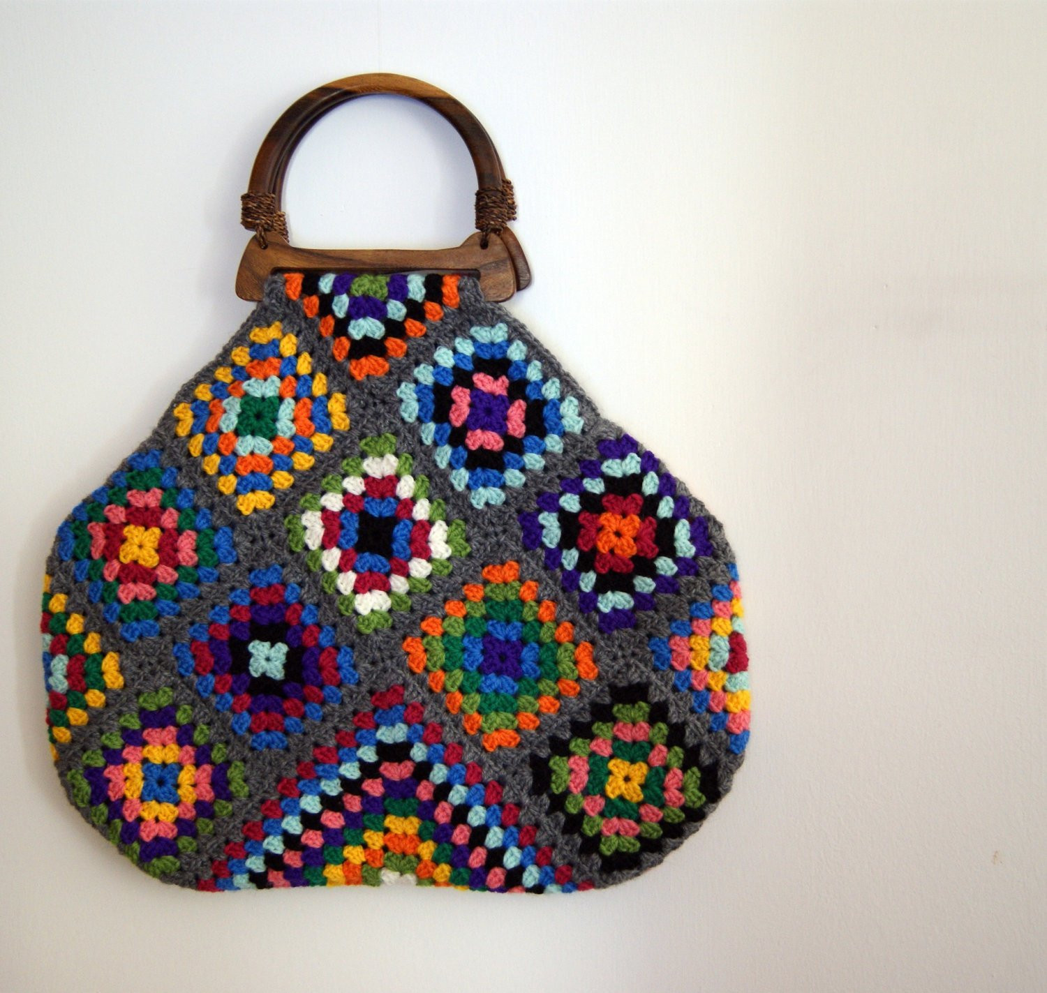 Crochet Pouch Luxury Crochet Granny Square Bag Of Awesome 48 Pics Crochet Pouch