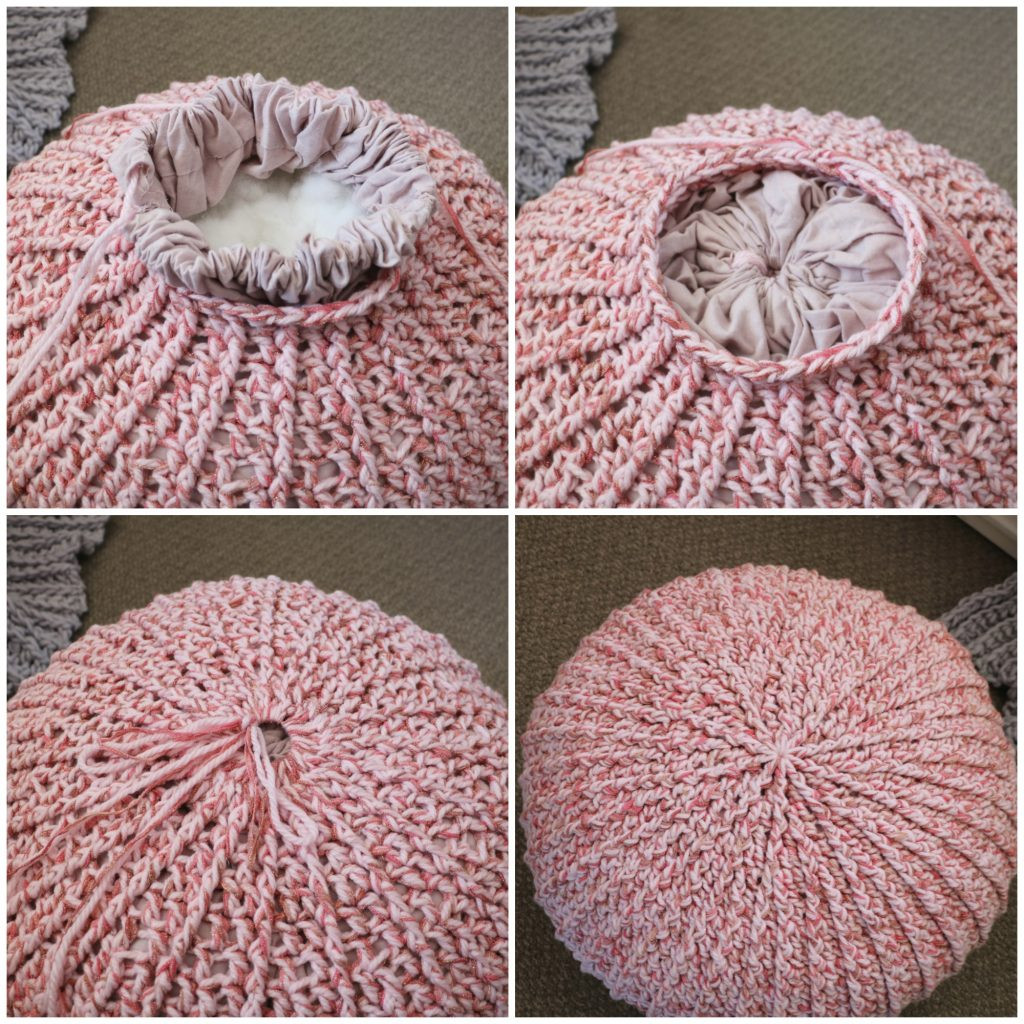 Crochet Pouf Lovely How to Crochet A Floor Pouf with Liner Mj S Off the Hook Of New 45 Models Crochet Pouf