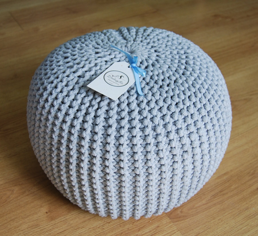 Crochet Pouf New Knitted Pouf Colours Grey Seat Crochet Pouf Ottoman Of New 45 Models Crochet Pouf