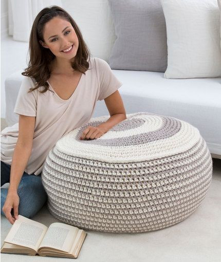 Crochet Pouf Pattern Beautiful 20 Quirky Floor Poufs Messagenote Of Incredible 46 Pictures Crochet Pouf Pattern