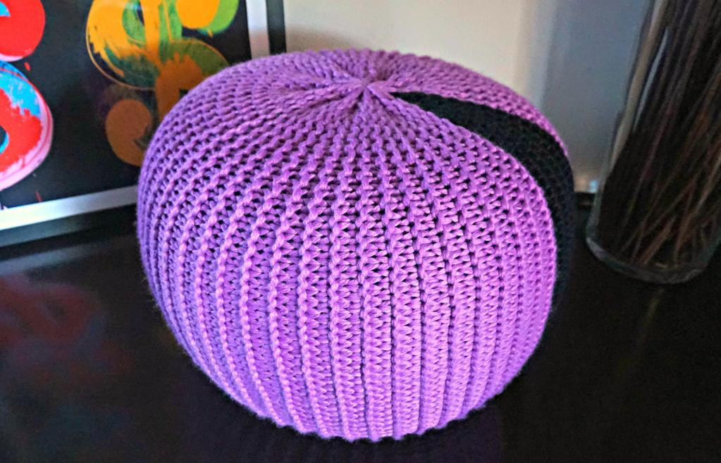 Crochet Pouf Pattern Beautiful Knitted Pouf Patterns Craftsy Of Incredible 46 Pictures Crochet Pouf Pattern