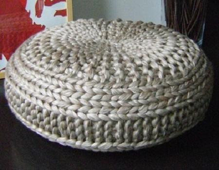 Crochet Pouf Pattern Best Of Knitted Extra Pouf Pattern Poof Knitting Ottoman Of Incredible 46 Pictures Crochet Pouf Pattern