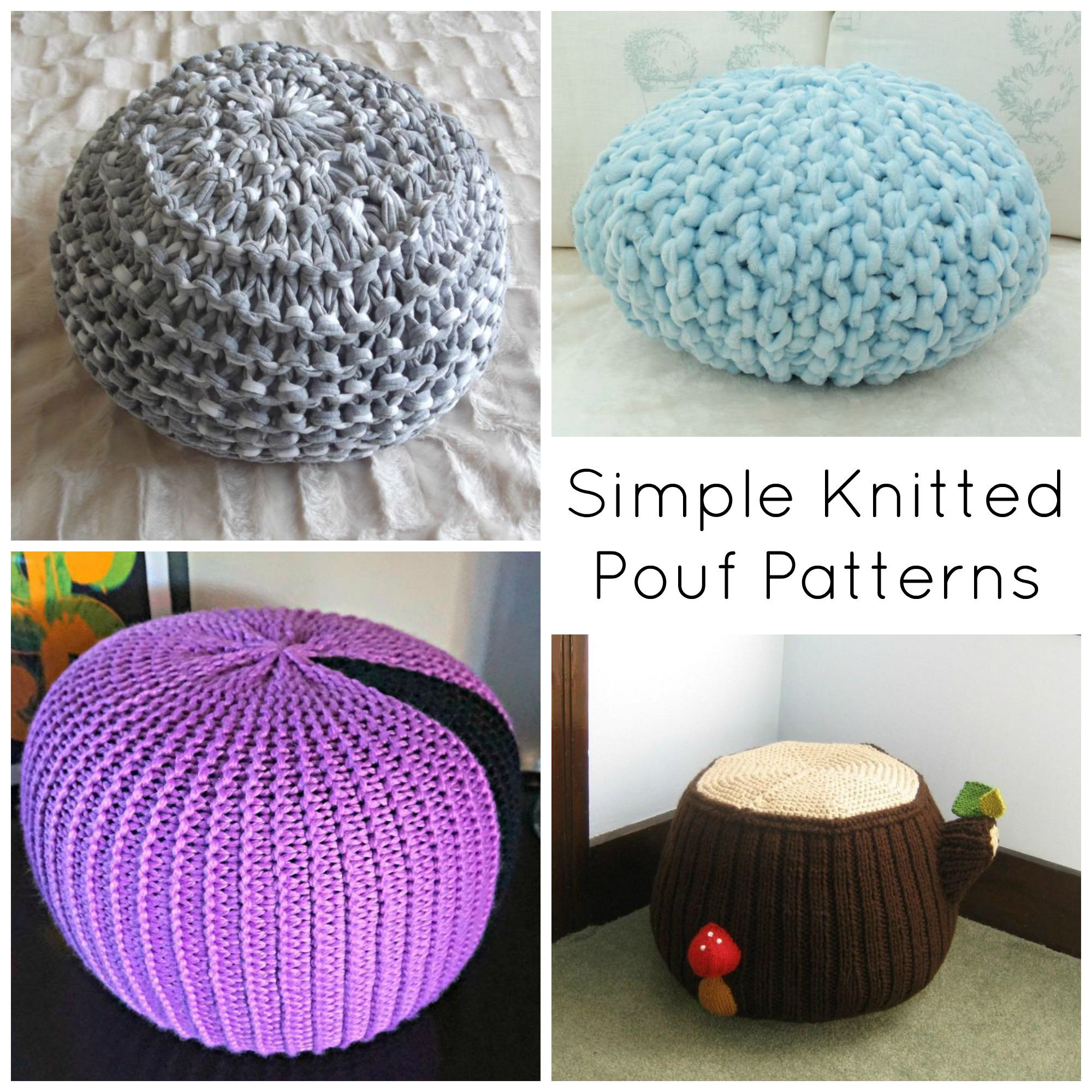 Crochet Pouf Pattern Luxury Knitted Pouf Patterns Craftsy Of Incredible 46 Pictures Crochet Pouf Pattern