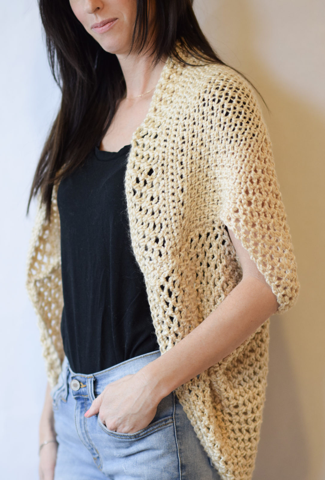 Mod Mesh Honey Blanket Sweater – Mama In A Stitch