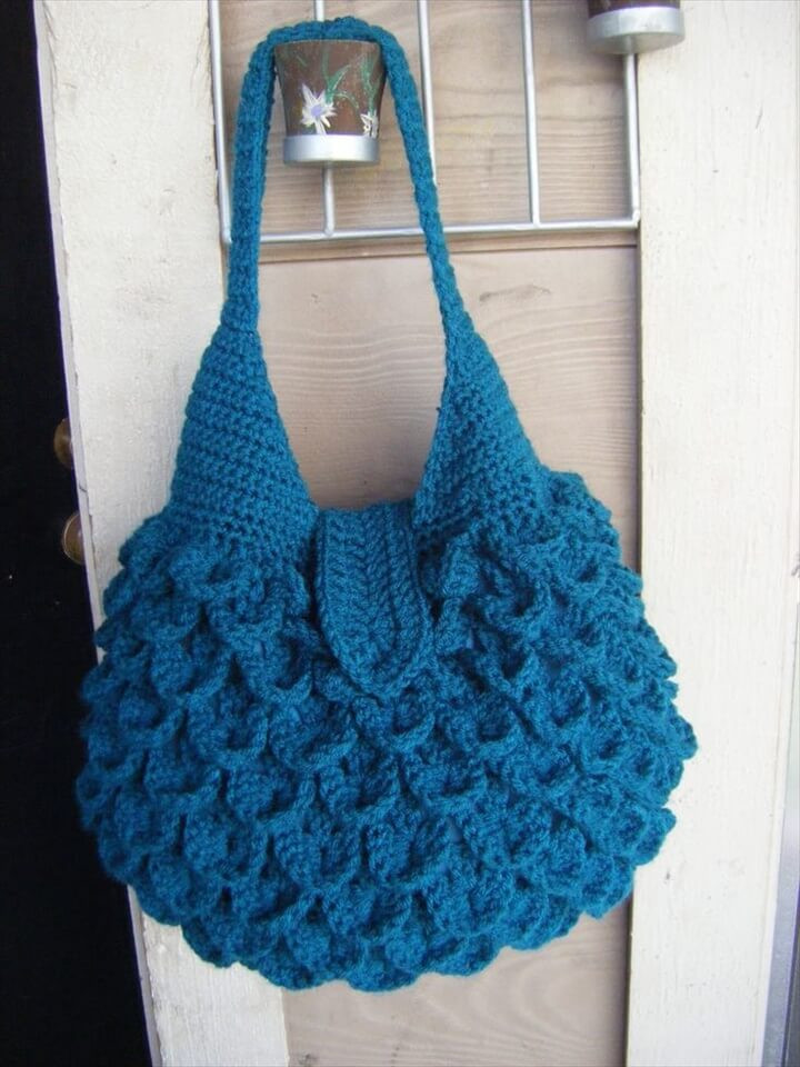 Crochet Purse New 30 Easy Crochet tote Bag Patterns Of Top 48 Images Crochet Purse