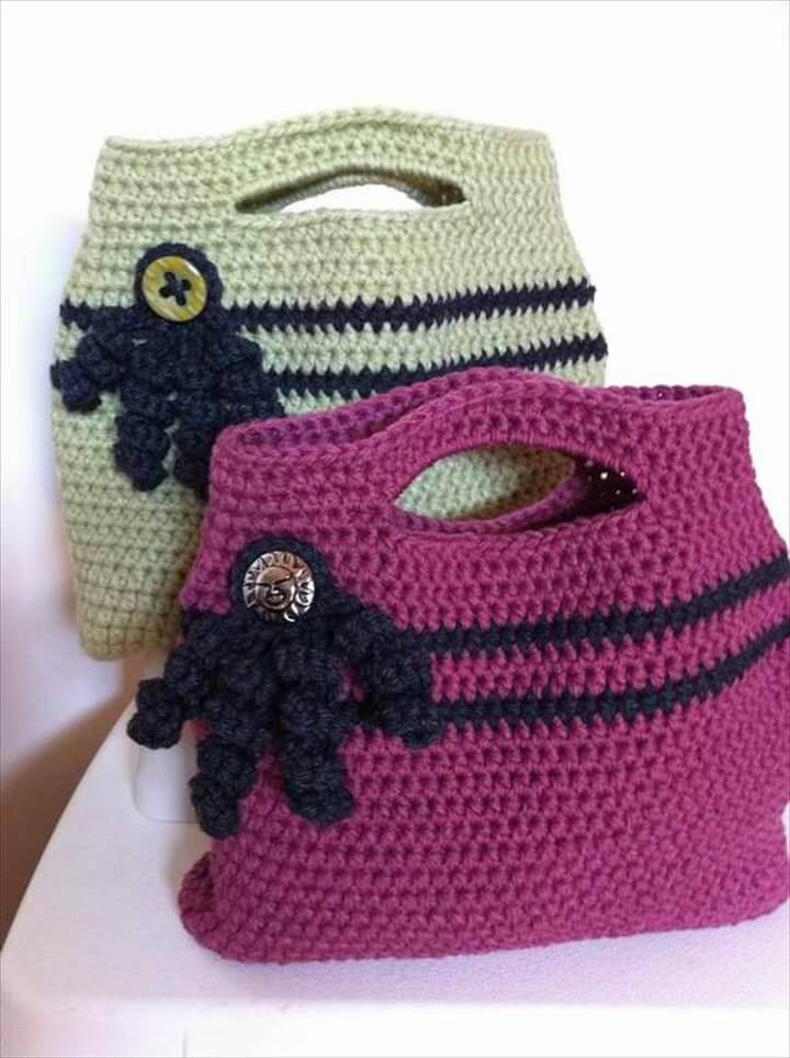 Crochet Purse Pattern Beautiful 30 Easy Crochet tote Bag Patterns Of Adorable 44 Photos Crochet Purse Pattern