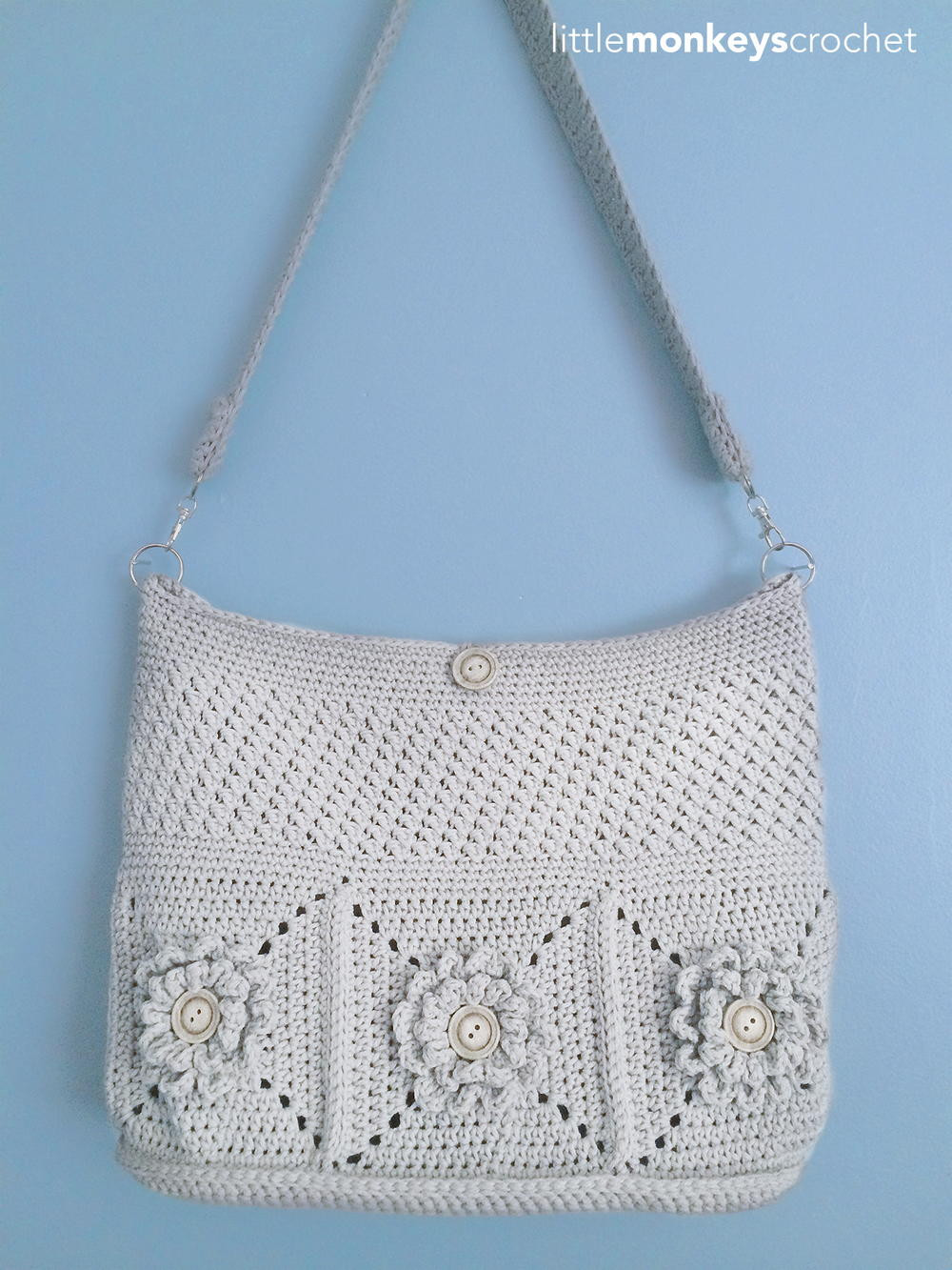 Crochet Purse Pattern Beautiful Wildflower Shoulder Crochet Bag Of Adorable 44 Photos Crochet Purse Pattern