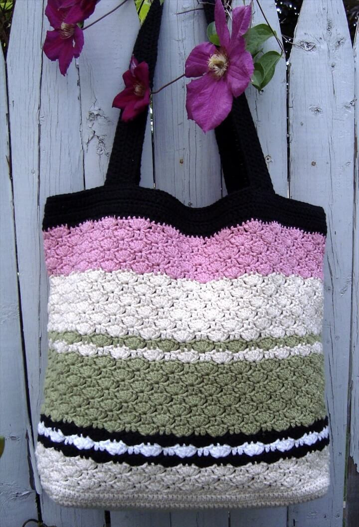 Crochet Purse Pattern Elegant 30 Easy Crochet tote Bag Patterns Of Adorable 44 Photos Crochet Purse Pattern