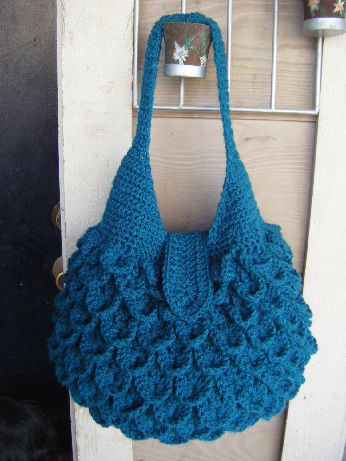 Crochet Crocodile Bag Pattern PERMISSION SELL finish product