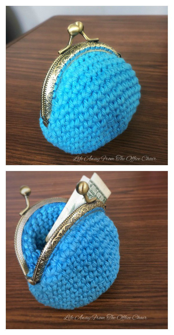 Crochet Purse Patterns Awesome Crocheted Coin Purse Free Patterns Of Attractive 46 Photos Crochet Purse Patterns