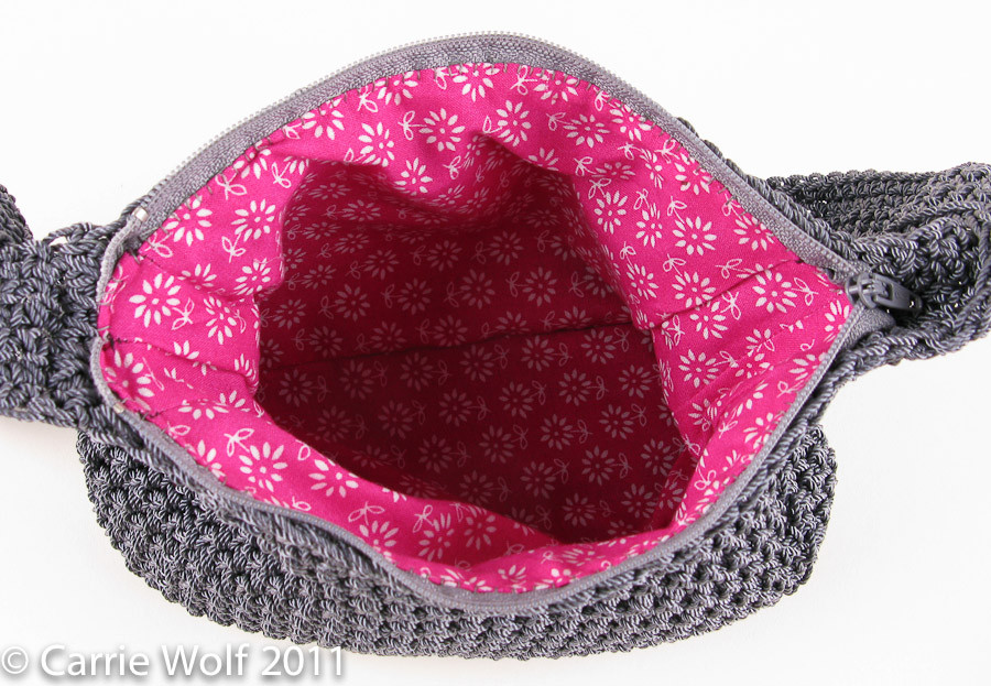 Crochet Purses and Bags Tutorials New How to Insert A Zipper and Line A Crochet Purse Tutorial Of Great 44 Photos Crochet Purses and Bags Tutorials