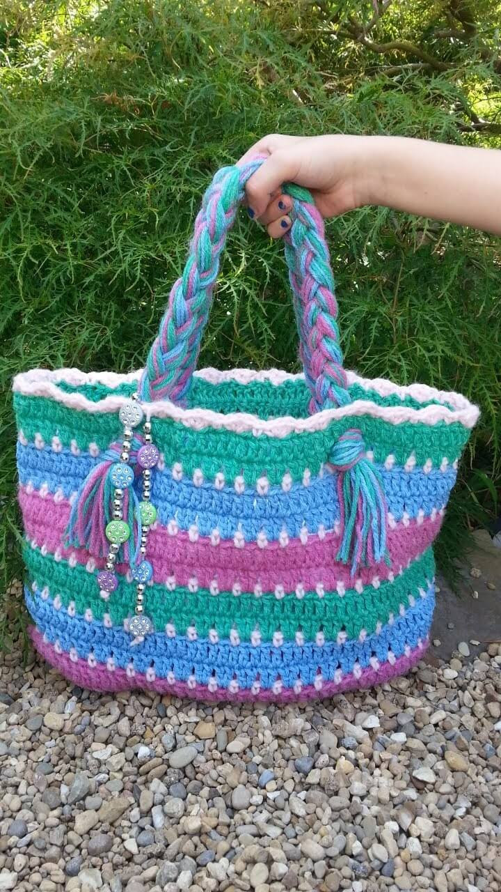 Crochet Purses and Bags Tutorials Unique 30 Easy Crochet tote Bag Patterns Of Great 44 Photos Crochet Purses and Bags Tutorials