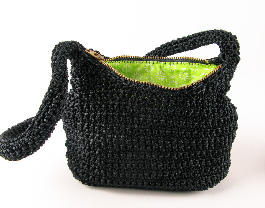 Crochet Purses Best Of New Black Nylon Crochet Purse with Lime Green Lining Of Luxury 41 Pictures Crochet Purses