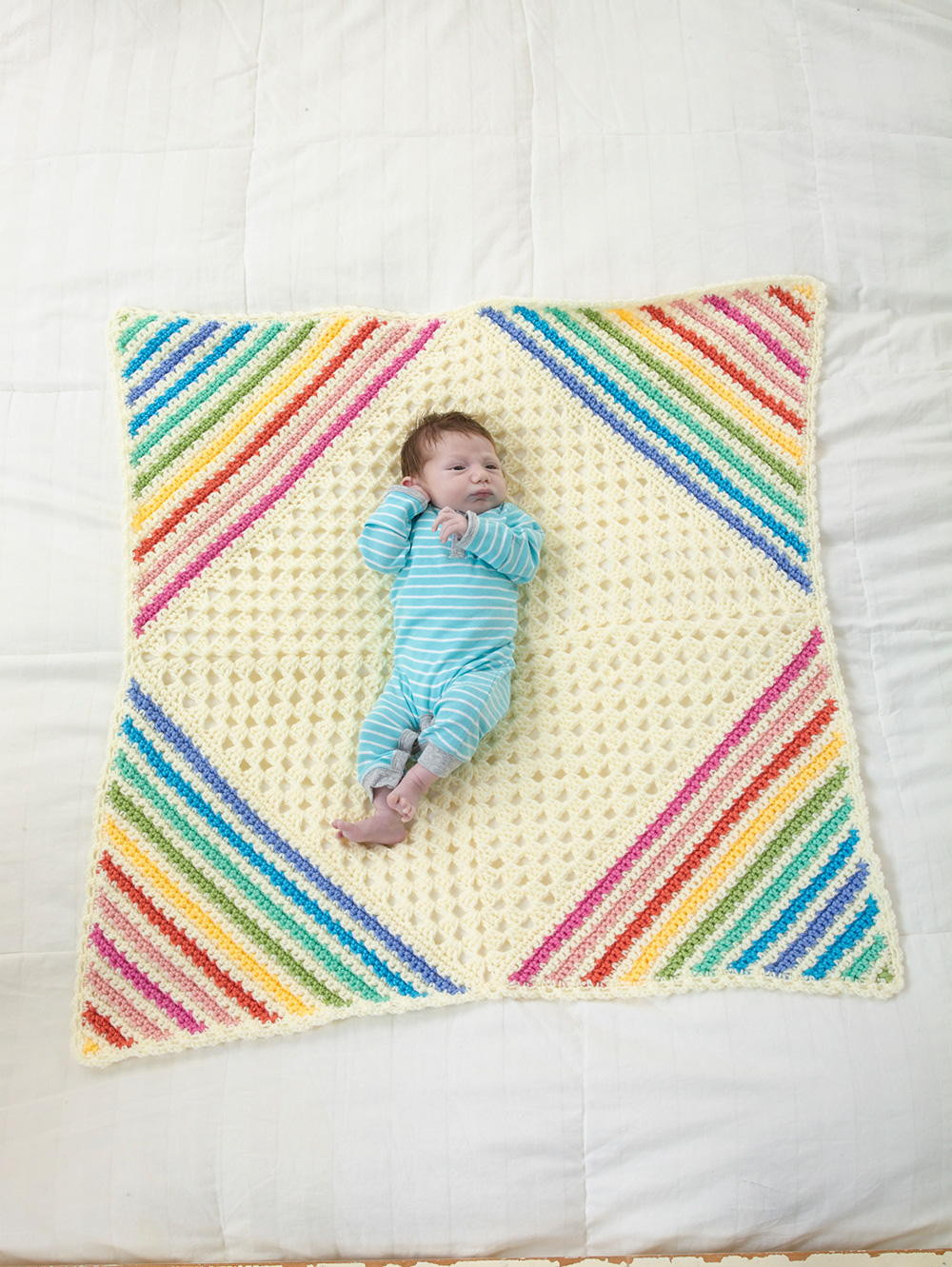 "Crochet Quilts Beautiful ""nobody Puts Baby In the Corner"" Blanket Of Unique 45 Pics Crochet Quilts"