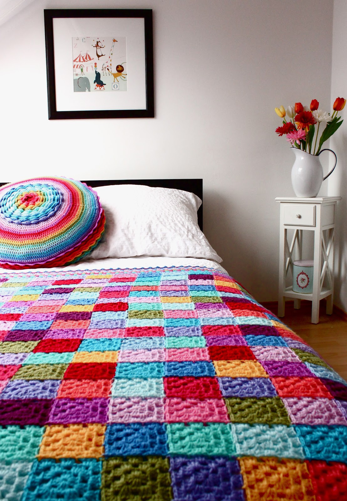 Crochet Quilts Elegant According to Matt solid Granny Square Blanket Of Unique 45 Pics Crochet Quilts