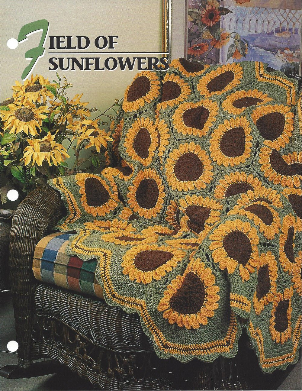 Crochet Quilts Inspirational Field Sunflowers Annie S Crochet Quilt & Afghan Of Unique 45 Pics Crochet Quilts