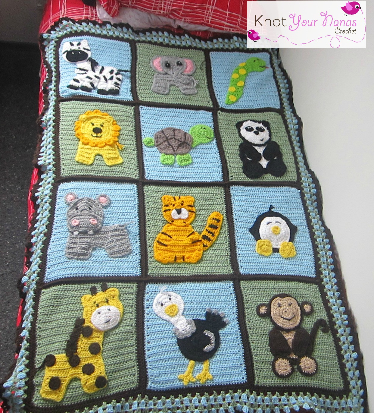 Crochet Quilts Inspirational Knot Your Nana S Crochet Zoo Blanket Of Unique 45 Pics Crochet Quilts