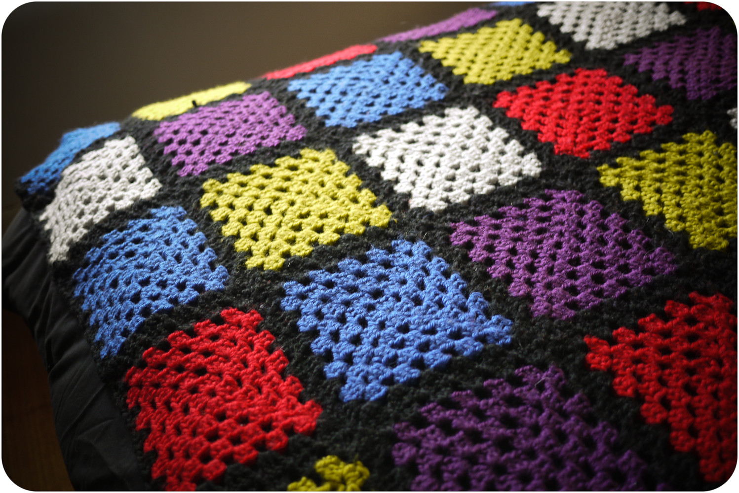 """Crochet Quilts New Veronica Darling Voila """"the Breaking Wire"""" Crochet Blanket Of Unique 45 Pics Crochet Quilts"""