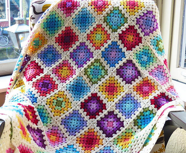 Crochet Rainbow Baby Blanket Awesome Colourful Granny Rainbow Crochet Baby Blanket Of Gorgeous 44 Images Crochet Rainbow Baby Blanket