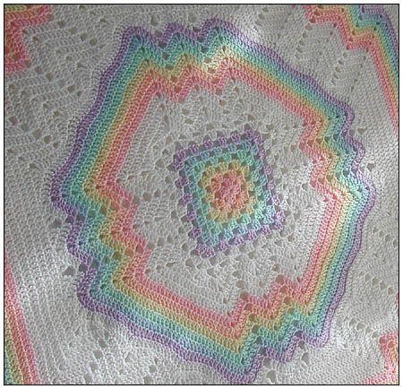 Crochet Rainbow Baby Blanket Awesome Crochet Patterns Helen Passey Of Gorgeous 44 Images Crochet Rainbow Baby Blanket