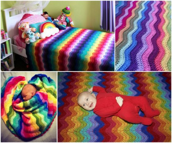 Crochet Rainbow Baby Blanket Inspirational Crochet Shell Stitch Tutorial Lots Patterns Of Gorgeous 44 Images Crochet Rainbow Baby Blanket