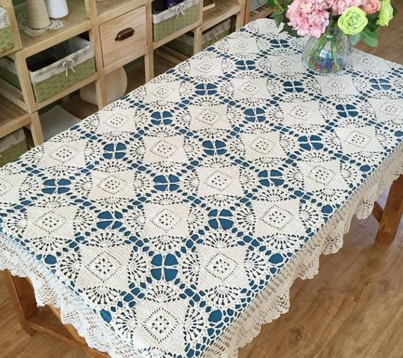 Crochet Rectangle Tablecloth Patterns Fresh New Arrival New Crochet Pattern Table Cover Oblong Hand Of Beautiful 41 Ideas Crochet Rectangle Tablecloth Patterns