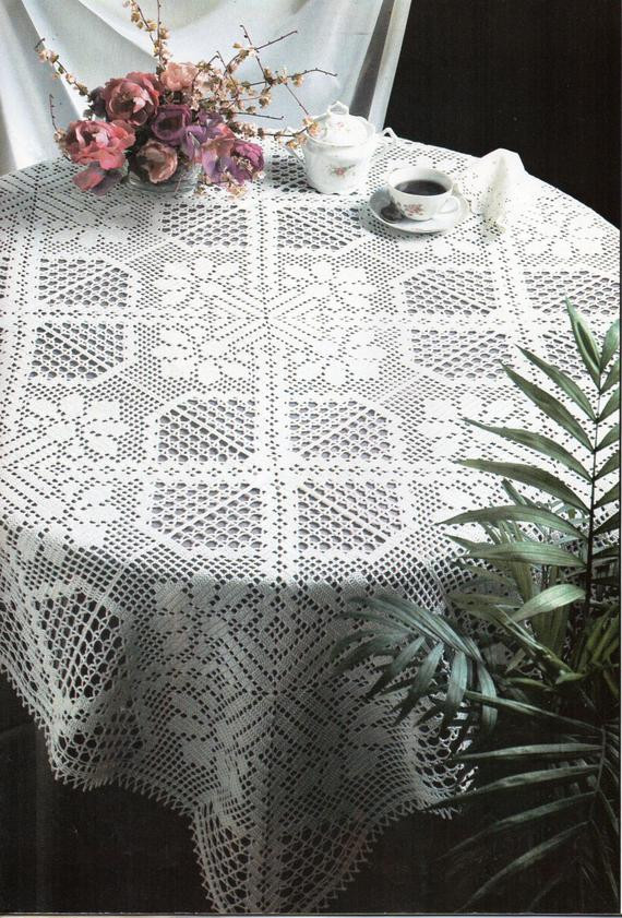 Crochet Rectangle Tablecloth Patterns New Crochet Pattern Crochet Tablecloth Filet Crochet Tablecloth Of Beautiful 41 Ideas Crochet Rectangle Tablecloth Patterns