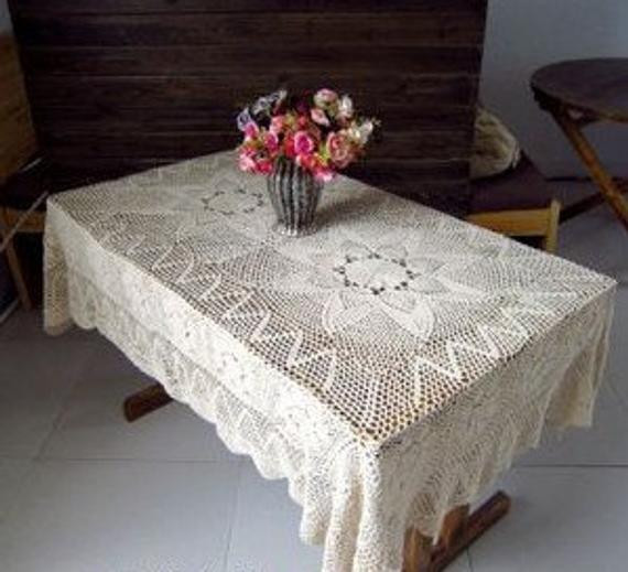 Crochet Rectangle Tablecloth Patterns New Crochet Rectangle Table Cloth – Ly New Crochet Patterns Of Beautiful 41 Ideas Crochet Rectangle Tablecloth Patterns