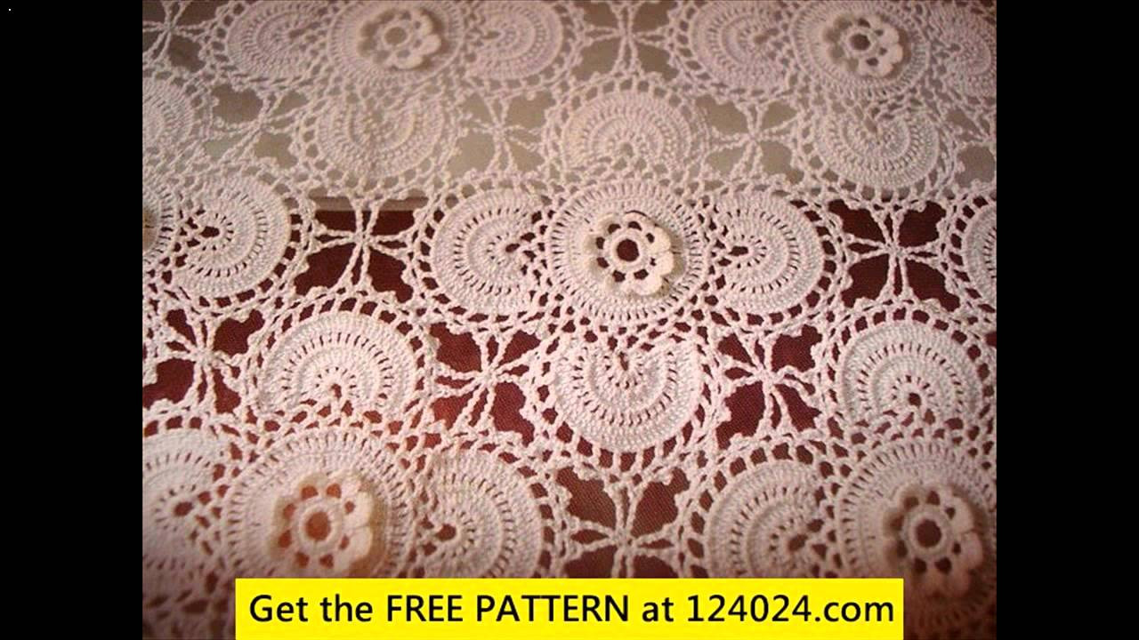 Crochet Rectangle Tablecloth Patterns New Crochet Tablecloth Rectangle Of Beautiful 41 Ideas Crochet Rectangle Tablecloth Patterns
