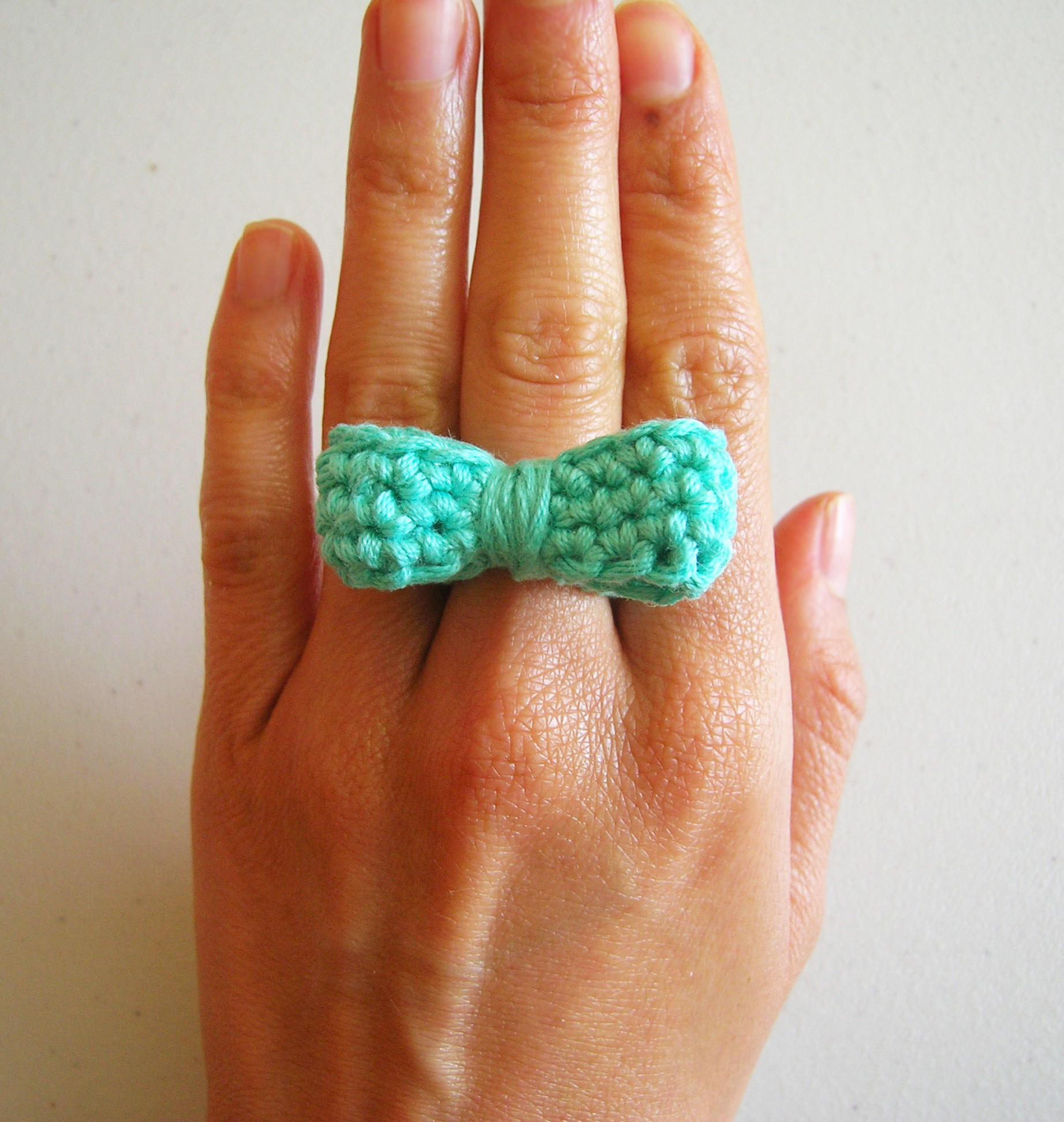 Crochet Rings Fresh Bow Ring · How to Stitch A Knit Crochet Ring Of Unique 40 Pics Crochet Rings