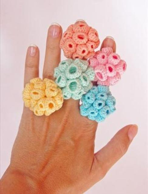 crochet ring patterns and ideas for beginners