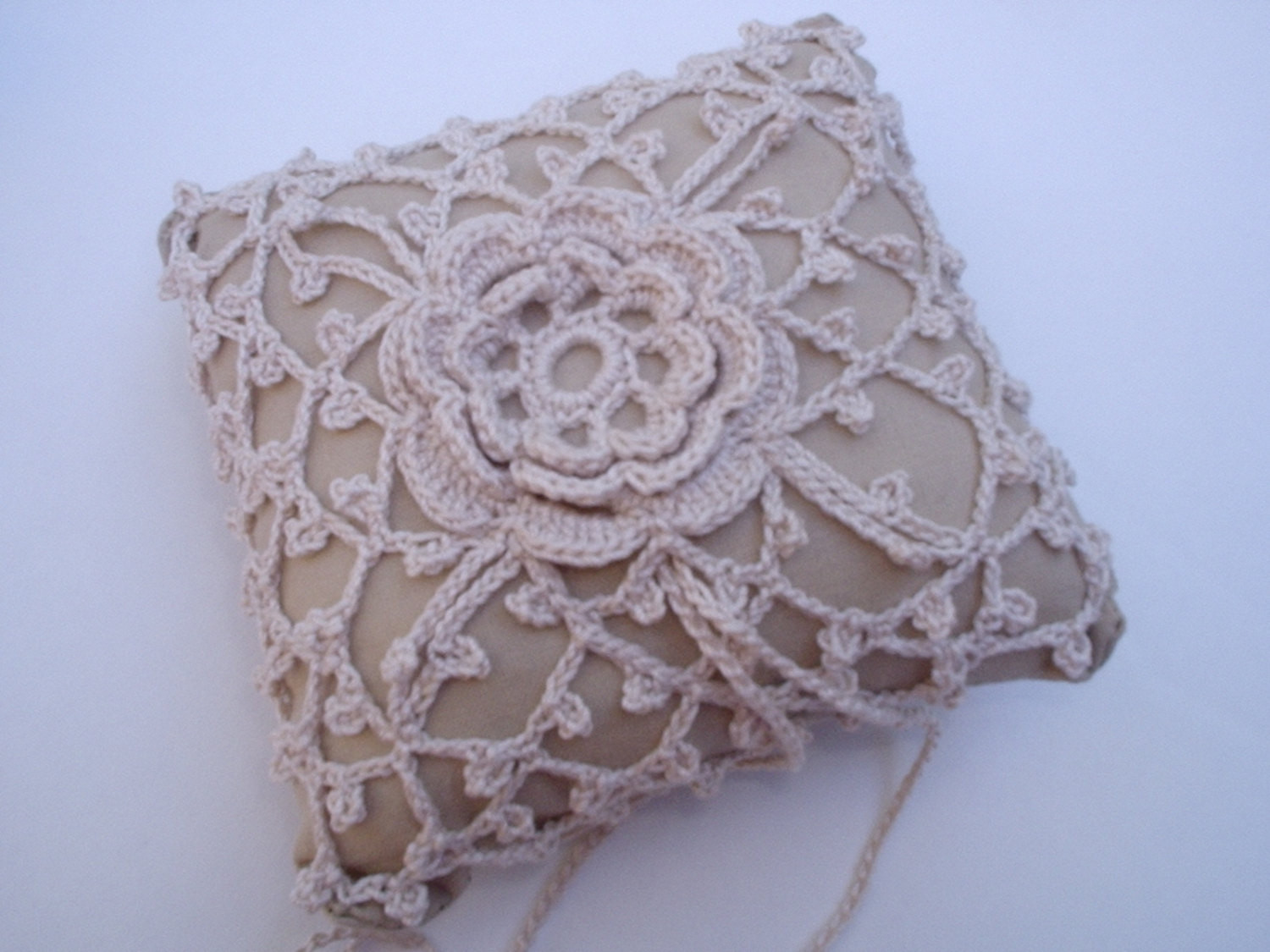 Crochet Rings Inspirational Pattern Crochet Wedding Lace Ring Bearer Pillow Pin by Of Unique 40 Pics Crochet Rings