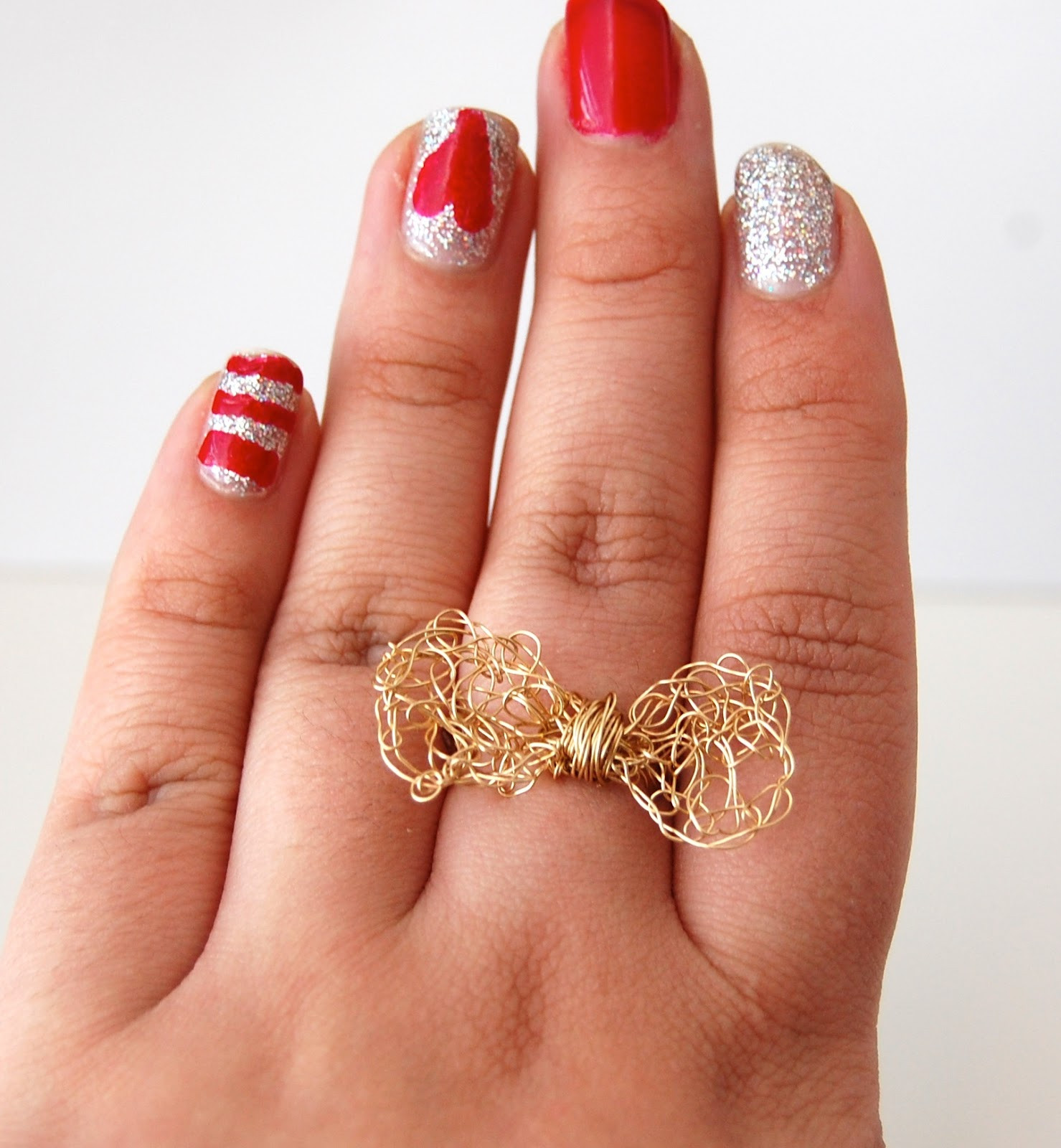 SellzCuteThings Tutorial How to make Crochet Bow Ring
