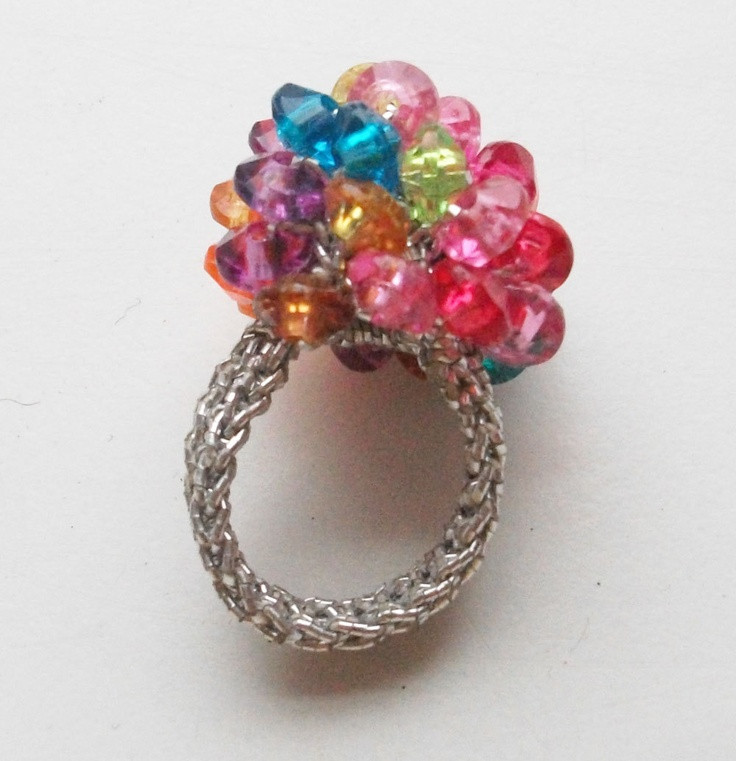 Crochet Rings Luxury 17 Best Images About Crocheted with Beads Ring On Of Unique 40 Pics Crochet Rings