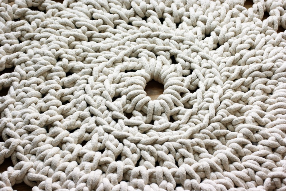 Crochet Rope Rug Awesome top 15 Diy Projects Using Rope Of Luxury 46 Models Crochet Rope Rug