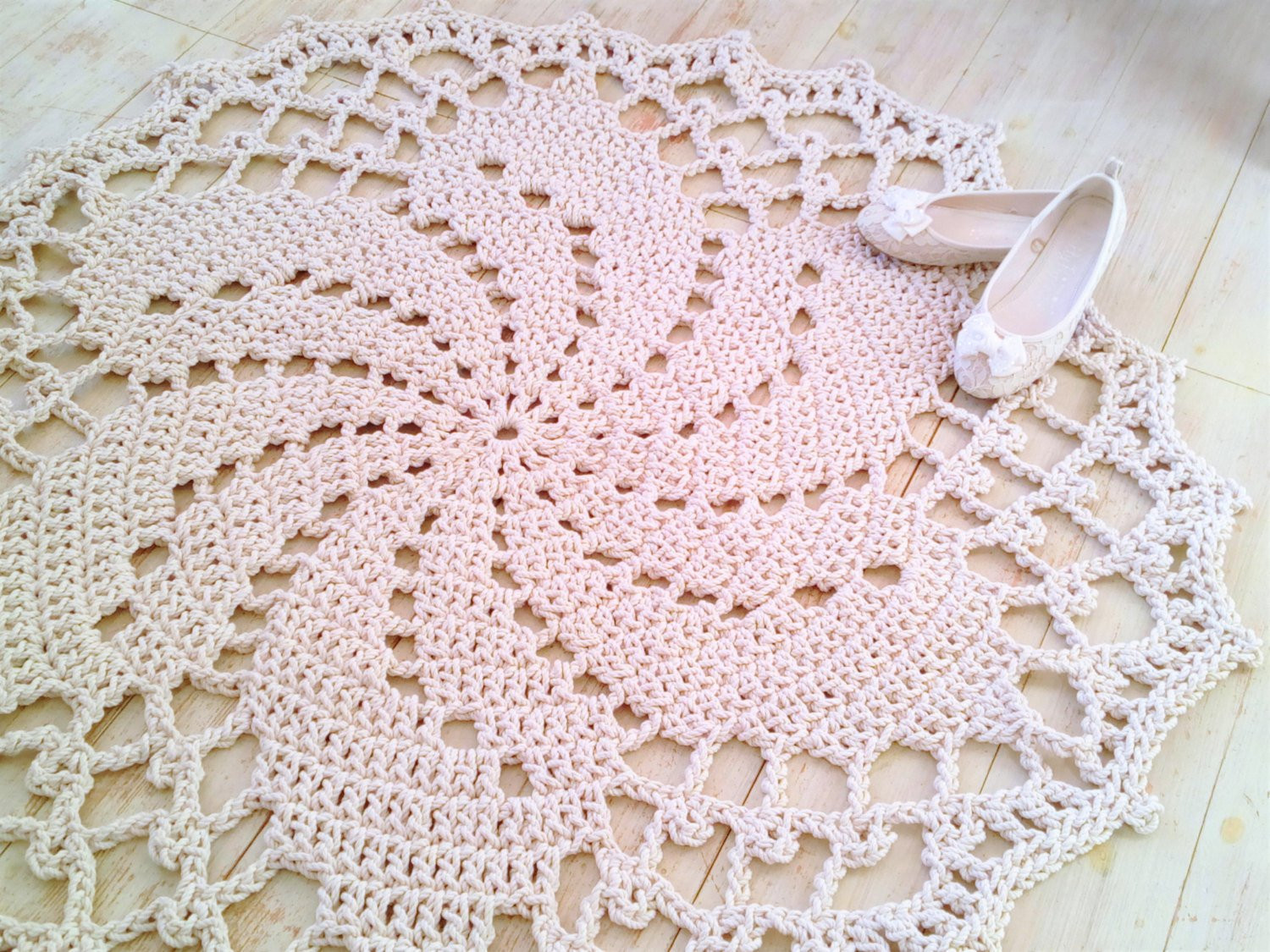 Crochet Rope Rug Beautiful Crochet Rope Cord Giant Doily Rug Cotton Round Bedroom Of Luxury 46 Models Crochet Rope Rug