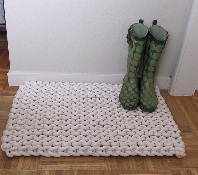 Crochet Rope Rug Best Of 1000 Images About Knitted Rugs On Pinterest Of Luxury 46 Models Crochet Rope Rug