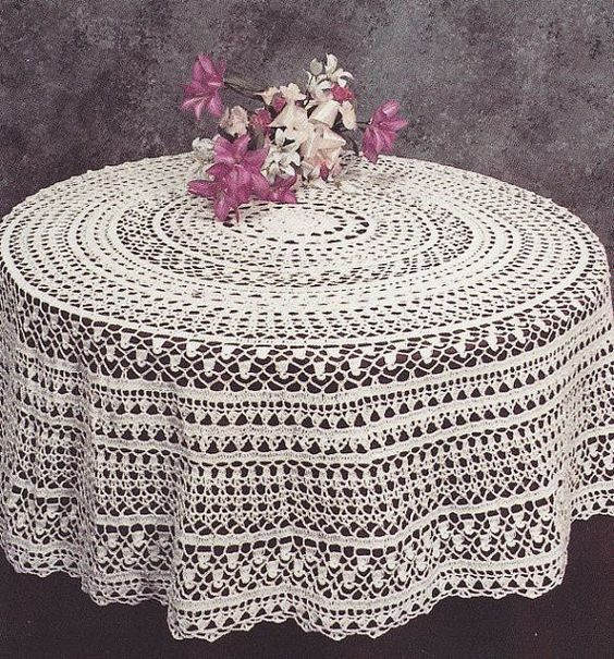 Crochet Round Tablecloth Elegant Free Crochet Pattern for A Tablecloth Dancox for Of Beautiful 41 Pictures Crochet Round Tablecloth