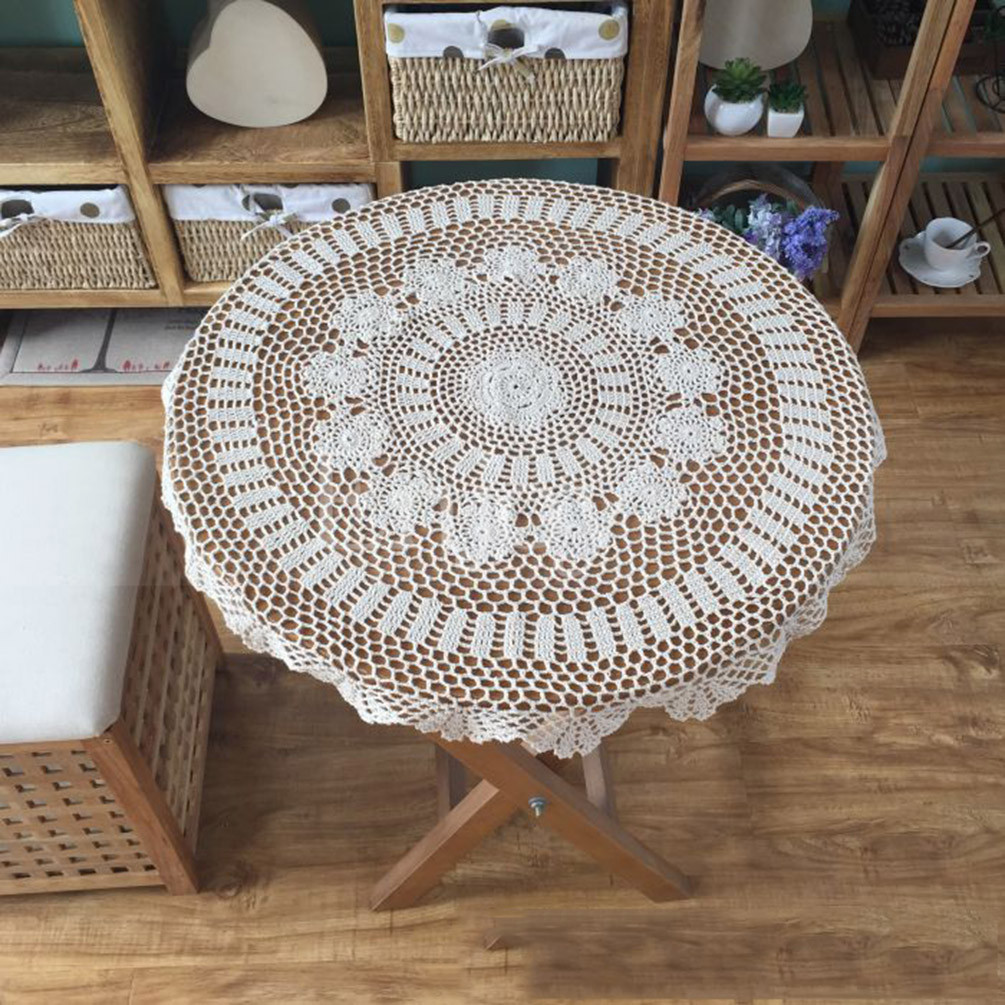 Crochet Round Tablecloth Elegant Vintage Round Flower Lace Crochet Hook Hollow Out Of Beautiful 41 Pictures Crochet Round Tablecloth