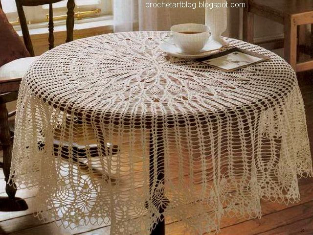 Crochet Round Tablecloth Pattern Free Beautiful 25 Unique Crochet Tablecloth Pattern Ideas On Pinterest Of Incredible 48 Pictures Crochet Round Tablecloth Pattern Free
