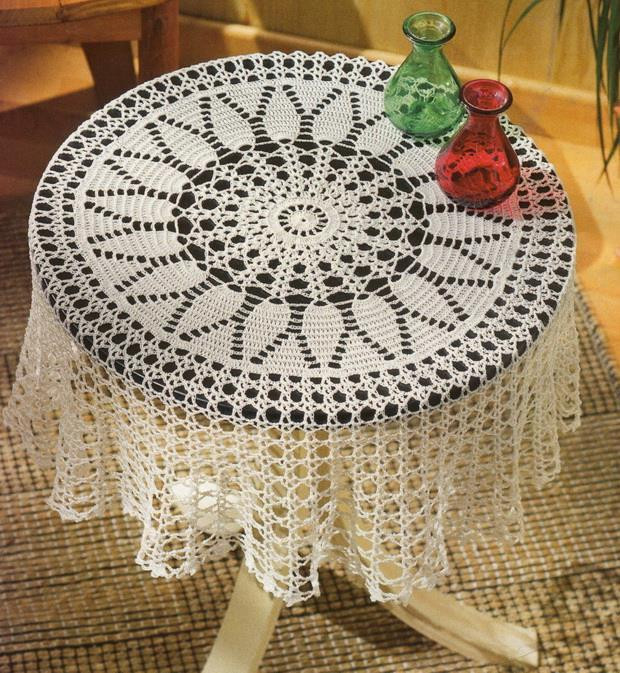 Crochet Round Tablecloth Pattern Free Best Of Crochet Art Crochet Tablecloth Free Pattern Beautiful Of Incredible 48 Pictures Crochet Round Tablecloth Pattern Free