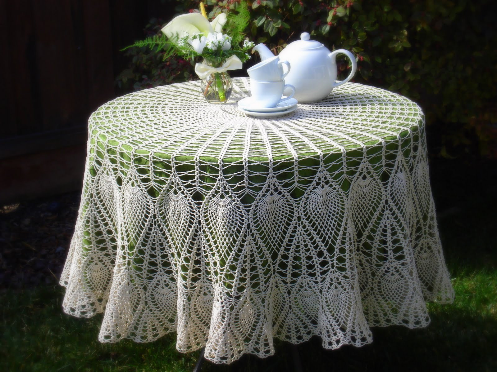 Crochet Round Tablecloth Pattern Free Elegant Lacy Crochet Tablecloth Update Of Incredible 48 Pictures Crochet Round Tablecloth Pattern Free