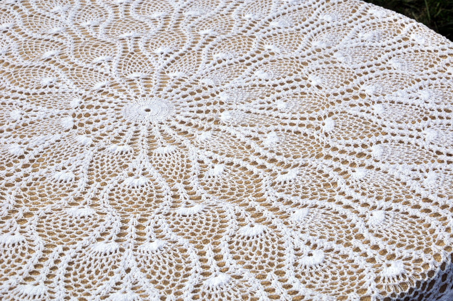 Crochet Round Tablecloth Pattern Free Inspirational 90 Inch Round Lace Crochet Tablecloth something Vintage Of Incredible 48 Pictures Crochet Round Tablecloth Pattern Free