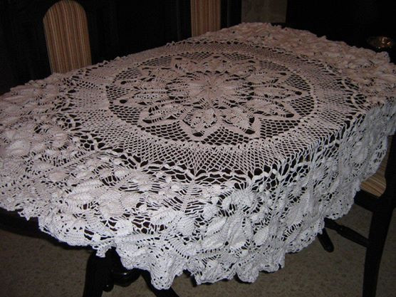 Crochet Round Tablecloth Pattern Free Inspirational Learn to Knit and Crochet with Jeanette Crochet Tablecloth Of Incredible 48 Pictures Crochet Round Tablecloth Pattern Free