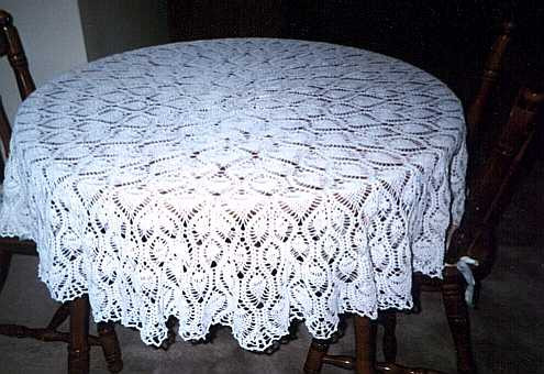 Crochet Round Tablecloth Pattern Free Lovely Rectangle Pineapple Crochet Tablecloth Pattern Of Incredible 48 Pictures Crochet Round Tablecloth Pattern Free