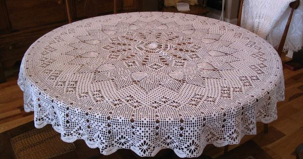 Crochet Round Tablecloth Pattern Free New Free Round Tablecloth Patterns Of Incredible 48 Pictures Crochet Round Tablecloth Pattern Free