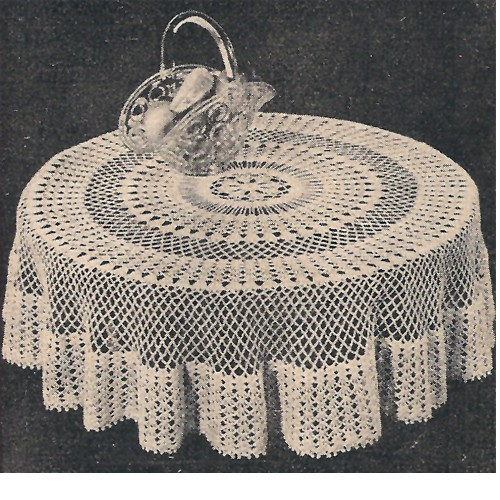 Crochet Round Tablecloth Unique 18 Easy Crochet Lace Tablecloth Patterns Of Beautiful 41 Pictures Crochet Round Tablecloth