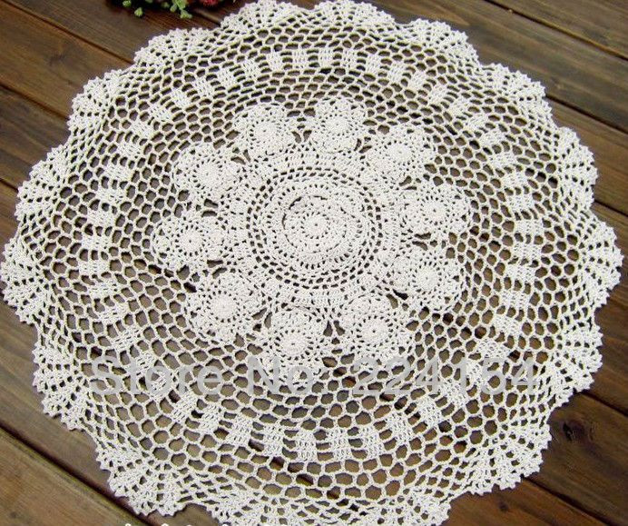 10 Best images about Round crochet tablecloth on Pinterest