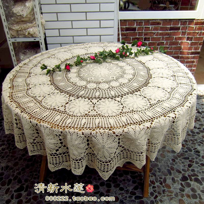 Crochet Round Tablecloths Lovely Free Shipping Round Lace Tablecloth for Wedding Spandex Of Unique 43 Pictures Crochet Round Tablecloths